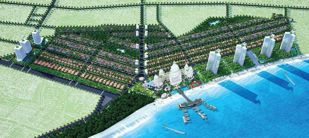Đất nền nhà phố và biệt thự Ocean Dunes Rạng Đông thuận lợi giao thông sống trẻ trung