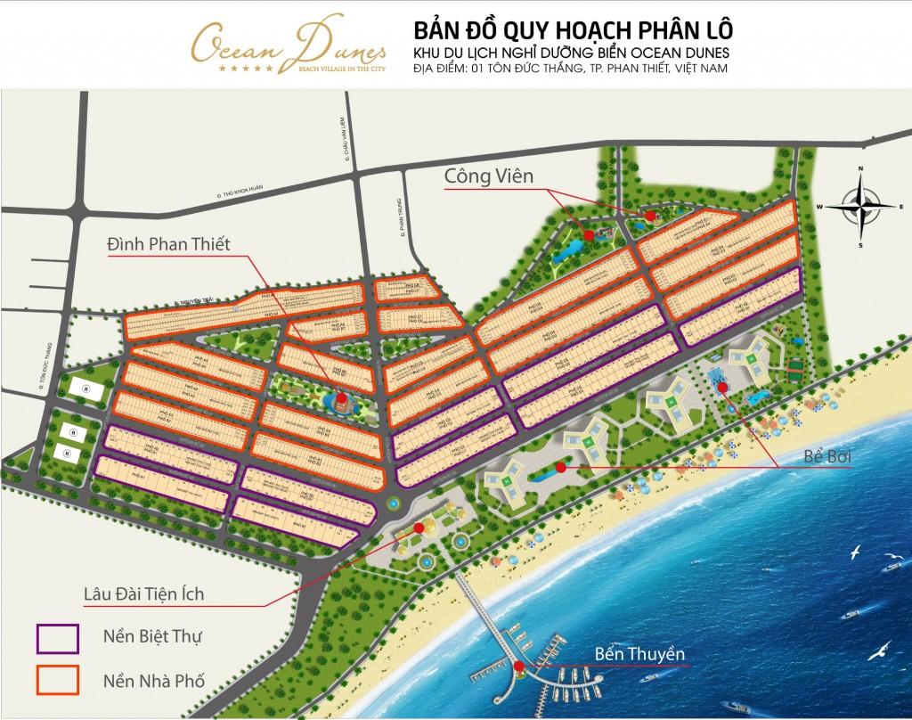 Ocean Dunes Nhà phố cao cấp thiết kế rất đẹp sống đích thực