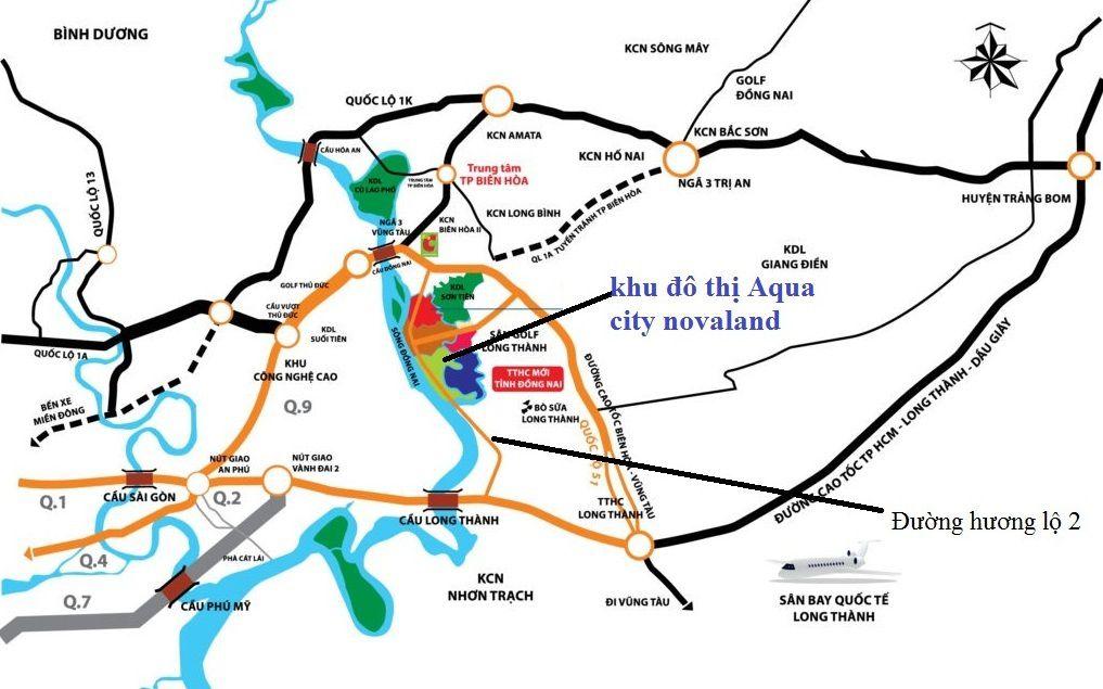 Những thông tin chính về dự án Aqua City